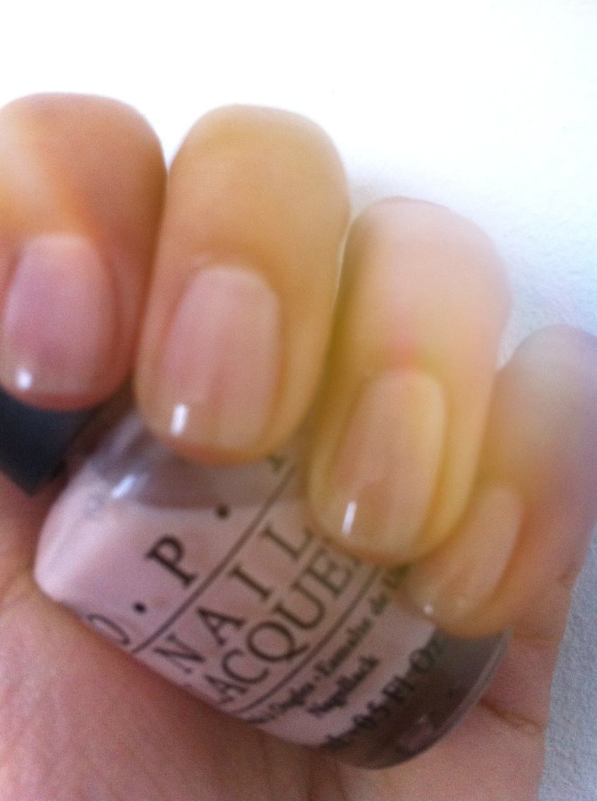 The Perfect Pink Nail Polish Opi Bubble Bath And So Says Sierra